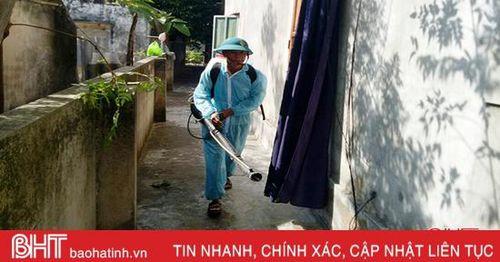 Ổ dịch sốt xuất huyết tại Lộc Hà cơ bản được khống chế