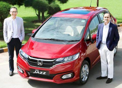 Ra mắt hatchback Honda Jazz 2020 giá từ 236 triệu đồng tại Ấn Độ