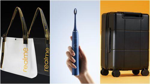 Realme ra mắt bàn chải điện, vali và túi xách: Rẻ nhưng chất
