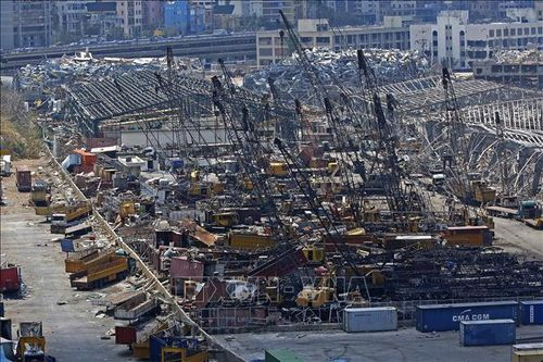 Liban phát hiện 4,35 tấn amoni nitrat nguy cơ gây nổ ở gần cảng Beirut
