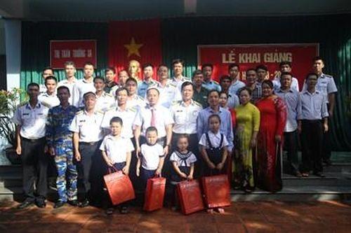 Huyện đảo Trường Sa khai giảng năm học 2020-2021