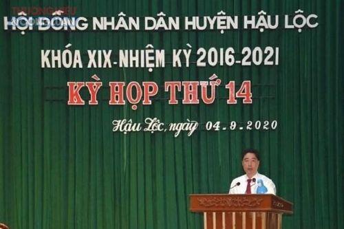 Thanh Hóa: Ông Nguyễn Minh Hoàng được bầu giữ chức Chủ tịch UBND huyện Hậu Lộc