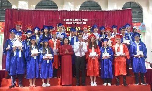 Nhiều đồng chí lãnh đạo dự lễ khai giảng năm học mới tại TPHCM