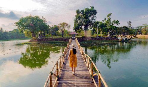 'Hồi sinh' di tích hồ Tịnh Tâm