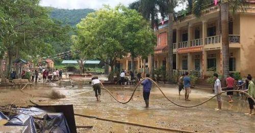 Lào Cai: Cần có phương án phòng chống lũ ống cho trường THCS xã Điện Quan
