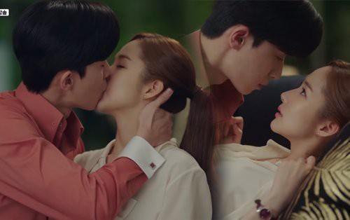 Sau 1 tháng, cảnh hôn đỏ mặt của Park Seo Joon Park Min Young tăng 100 triệu lượt xem