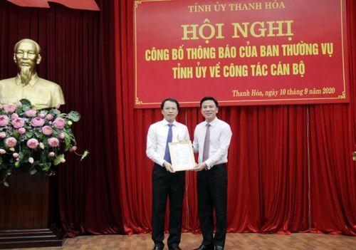 Thư ký Bí thư Tỉnh ủy làm Phó Chánh Văn phòng UBND tỉnh Thanh Hóa