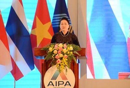 Bế mạc Đại hội đồng AIPA 41