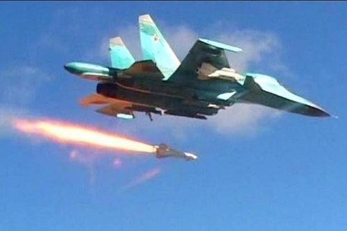 Không quân Nga giáng đòn hủy diệt khủng bố tại Syria