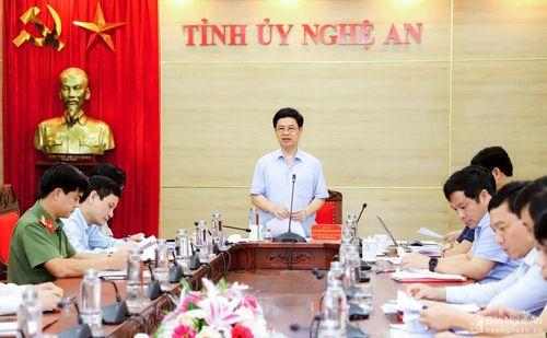 Chuẩn bị chu đáo công tác tổ chức, phục vụ Đại hội đại biểu Đảng bộ tỉnh Nghệ An