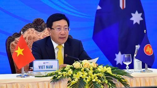 Australia cam kết hỗ trợ tài chính cho ASEAN chống COVID-19