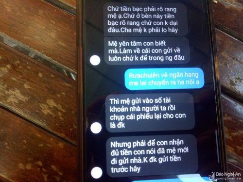 Con đi làm ở Nhật bị hack Faceboook, mẹ ở Nghệ An bị lừa 38 triệu đồng