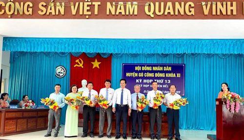 Hội đồng nhân dân huyện Gò Công Đông khóa XI tổ chức kỳ họp thứ 13
