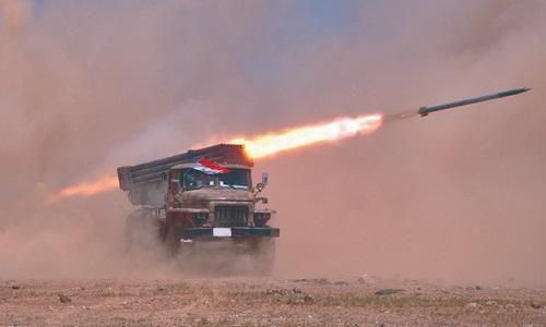 Tình hình chiến sự Syria mới nhất ngày 14/9: Quân đội Syria nã pháo dữ dội vào phiến quân ở Idlib
