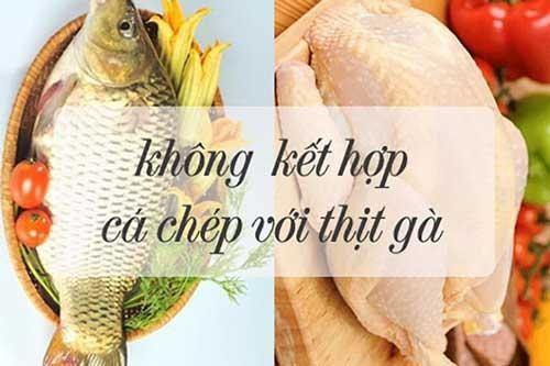 Những thực phẩm không nên kết hợp với thịt gà, biết để khỏi mang họa vào thân
