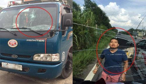 Bị tố đấm vỡ kính xe tải, tài xế ô tô 7 chỗ nói gì?