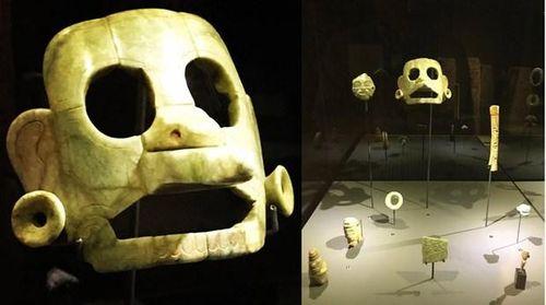 Thu hồi mặt nạ ngọc bích khoảng 1.400 năm tuổi, hé lộ lịch sử nền văn minh Maya
