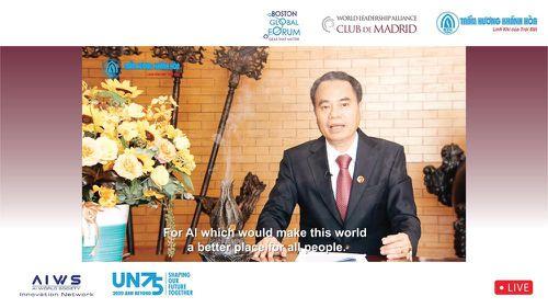 Gửi thông điệp 'Việt Nam-Quốc gia Trầm Hương' tới Diễn đàn Liên minh lãnh đạo Thế giới
