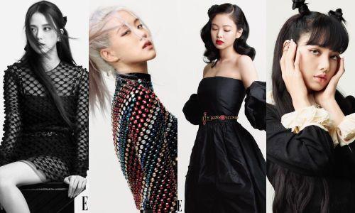 Lên bìa ELLE Mỹ tháng 10, bốn cô gái vàng K-Pop khẳng định 'Tương lai chính là BLACKPINK'