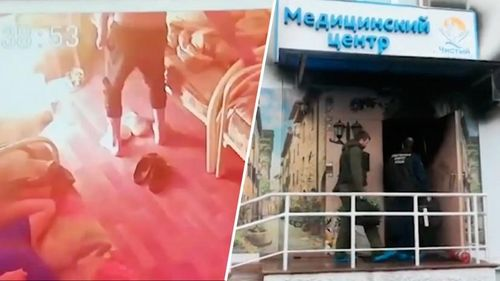 Nga: Bệnh nhân châm lửa đốt trung tâm cai nghiện, 10 người thương vong
