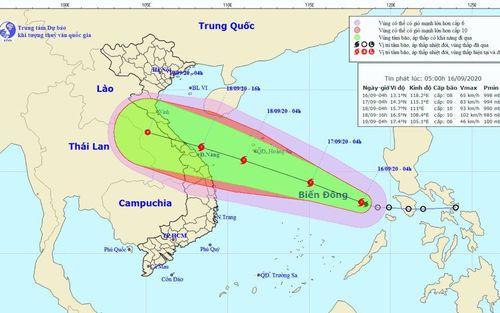 Thanh Hóa: Ra công điện khẩn đối phó với bão số 5