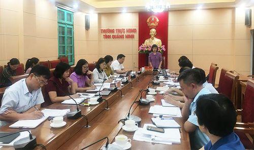 Thường trực HĐND tỉnh làm việc với huyện Đầm Hà về đầu tư công trung hạn, xử lý nợ đọng XDCB
