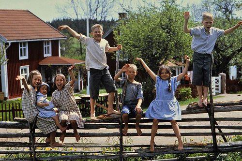 Thế giới hồn nhiên trong 'Lũ trẻ làng Ồn Ào'