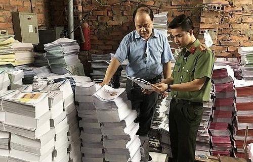 Cần xử lý quyết liệt vấn nạn sách lậu