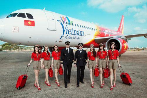 Vietjet dự kiến mở 3 đường bay quốc tế