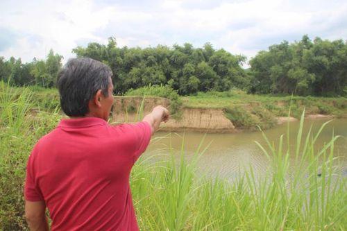Thủy điện Tiên Thuận xả lũ gây sạt lở vùng hạ du