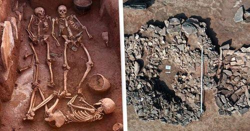 Bên trong ngôi mộ 2.500 tuổi của cặp đôi chiến binh cổ đại