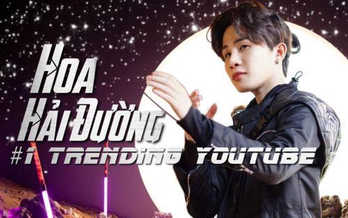 MV Hoa Hải đường của Jack chính thức #1 trending Youtube Việt Nam, cư dân mạng quan tâm thời gian để đạt thành tích này