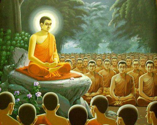 'Kịch bản' đón Phật trong kinh Lăng-già