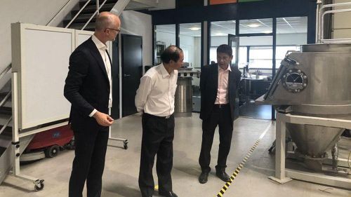 Đại sứ Việt Nam tại Hà Lan Phạm Việt Anh làm việc với Cơ quan quản lý nước Vechtstromen