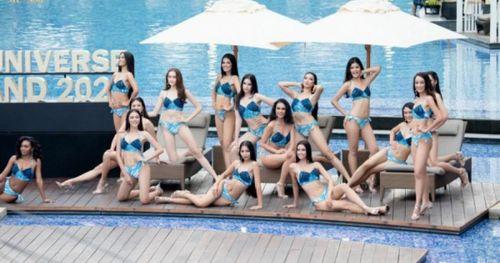 Bỏng mắt trước đường cong của dàn thí sinh Miss Universe Thailand 2020