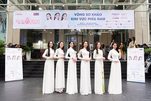 Dàn thí sinh vòng sơ khảo phía Nam Hoa hậu Việt Nam 2020 đọ sắc 'một chín một mười'