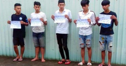 Bắt giữ 7 thanh thiếu niên gây hơn 10 vụ cướp trên quốc lộ