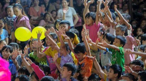 Hơn 6.000 phần quà Trung thu tới trẻ em đồng bào dân tộc S'tiêng tại Bù Đăng