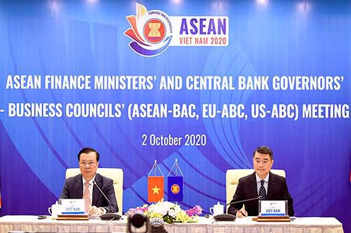 Chuỗi Hội nghị AFMM lần thứ 24, ASEAN-BAC, EU-ABC, US-ABC qua ảnh