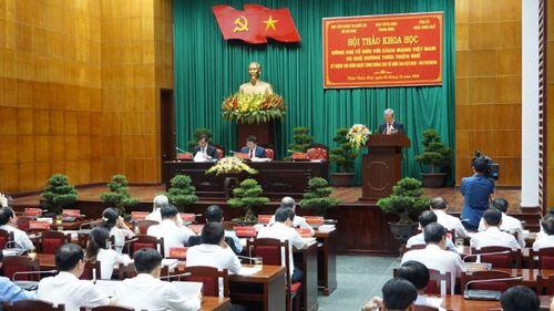 Đồng chí Tố Hữu với cách mạng Việt Nam và quê hương Thừa Thiên Huế
