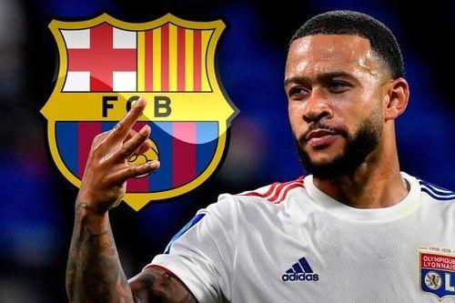 Depay có thể đến Barca trong ngày 5/10