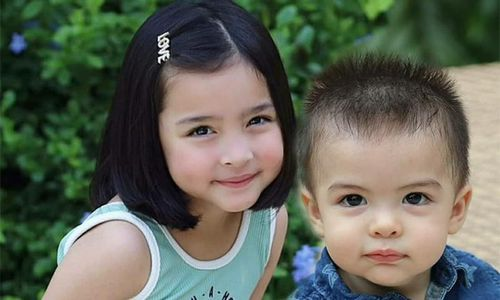 Ngắm hai thiên thần 'cực phẩm' của mỹ nhân đẹp nhất Philippines
