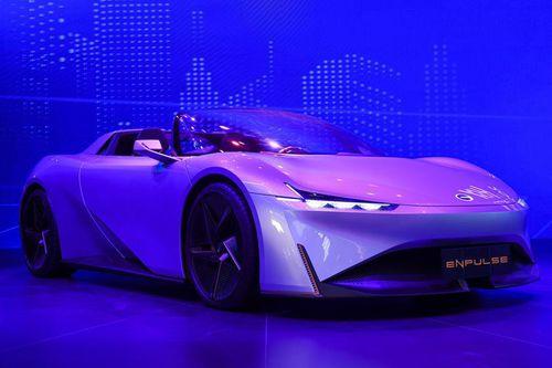 Xe điện thể thao mới từ Trung Quốc - đối thủ nặng ký của Tesla Roadster