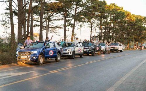 Du lịch caravan: 'Món mới' của du lịch Thủ đô