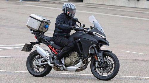 Ducati sản xuất mô tô trang bị radar đầu tiên trên thế giới