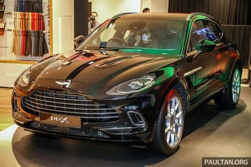 'SUV hạng sang' Aston Martin DBX ra mắt Malaysia từ 4,6 tỷ đồng, ngày về Việt Nam không còn xa
