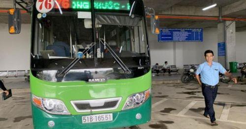 Đến Bến xe Miền Đông mới, hành khách đi tuyến xe buýt số 55, 76 và 93