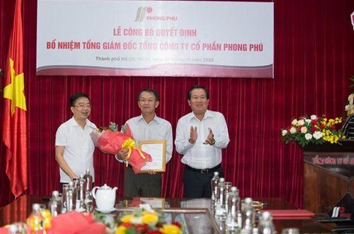 Tổng công ty cổ phần Phong Phú có tân Tổng giám đốc