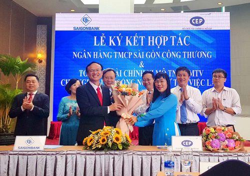 Saigonbank ký kết với nhiều khách hàng đẩy mạnh tín dụng