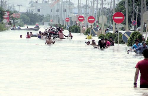 Lũ lụt hoành hành Đông Nam Á